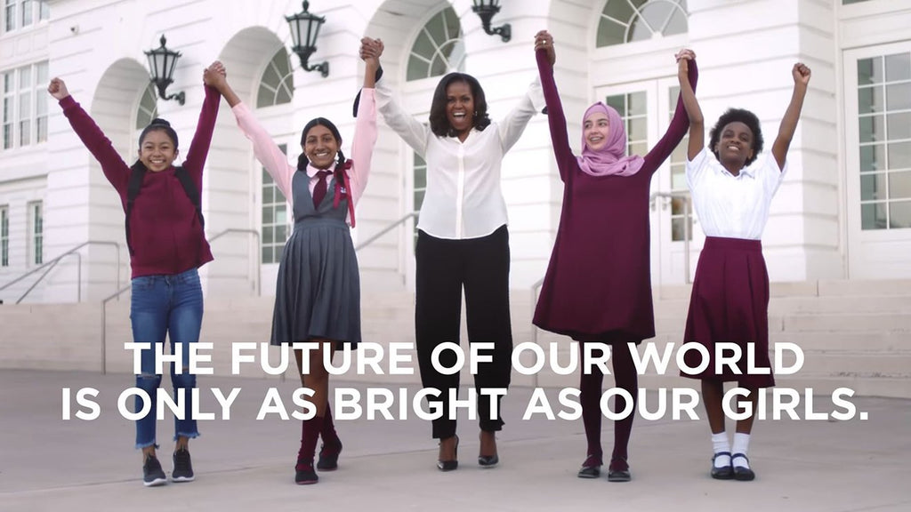 Michelle Obama Celebrates International Day Of The Girl With A New Education Initiative For Teen Girls