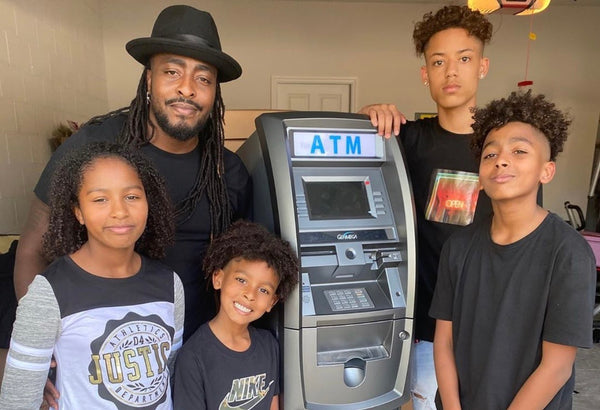 Florida Entrepreneur Gifts His Four Kids With ATM Business