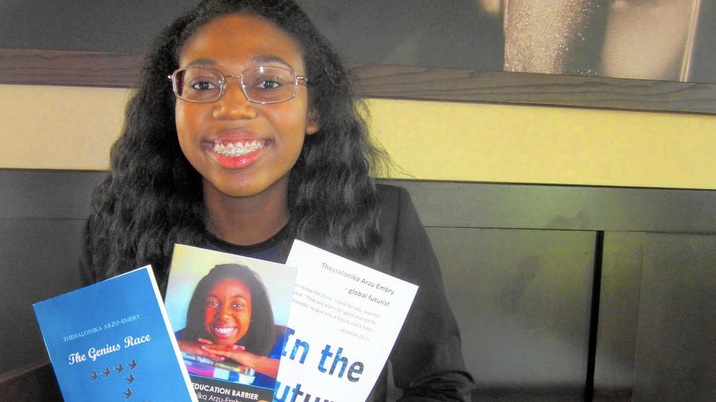17-Year-Old Scholar Thessalonika Arzu-Embry On Track To Earn Ph.D.
