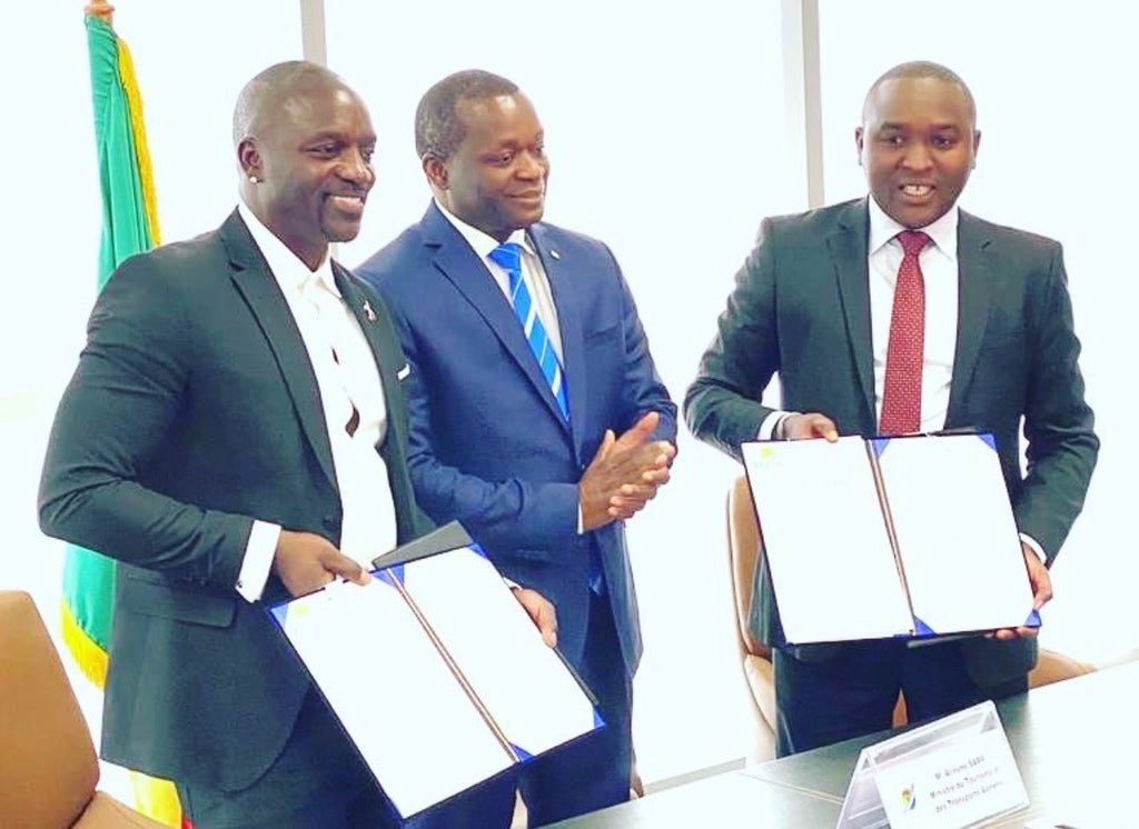 Akon Signs Official Documents To Build AKON CITY in Senegal