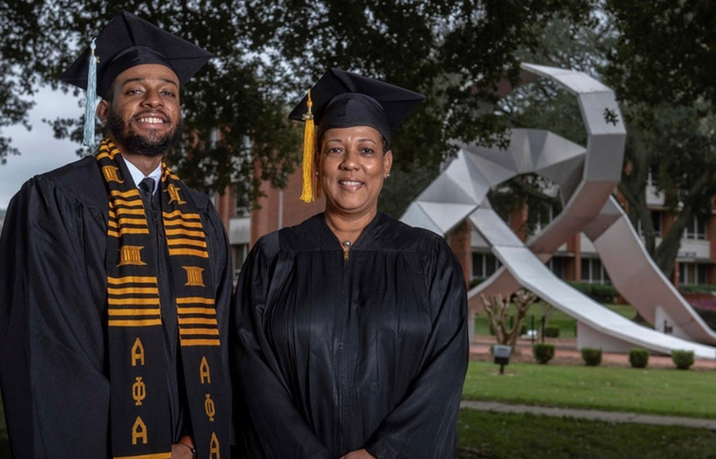 Mother And Son Are Set To Graduate Together from Alabama State University Over The Weekend