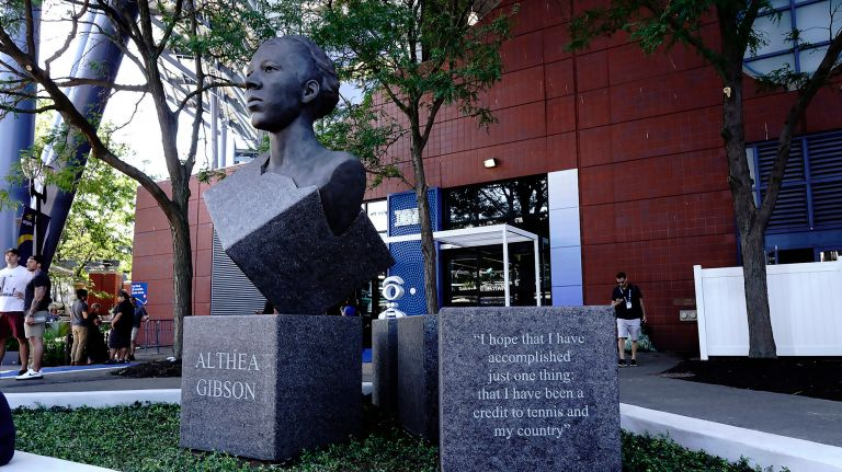Althea Gibson Sculpture Unveiled at 2019 US Open