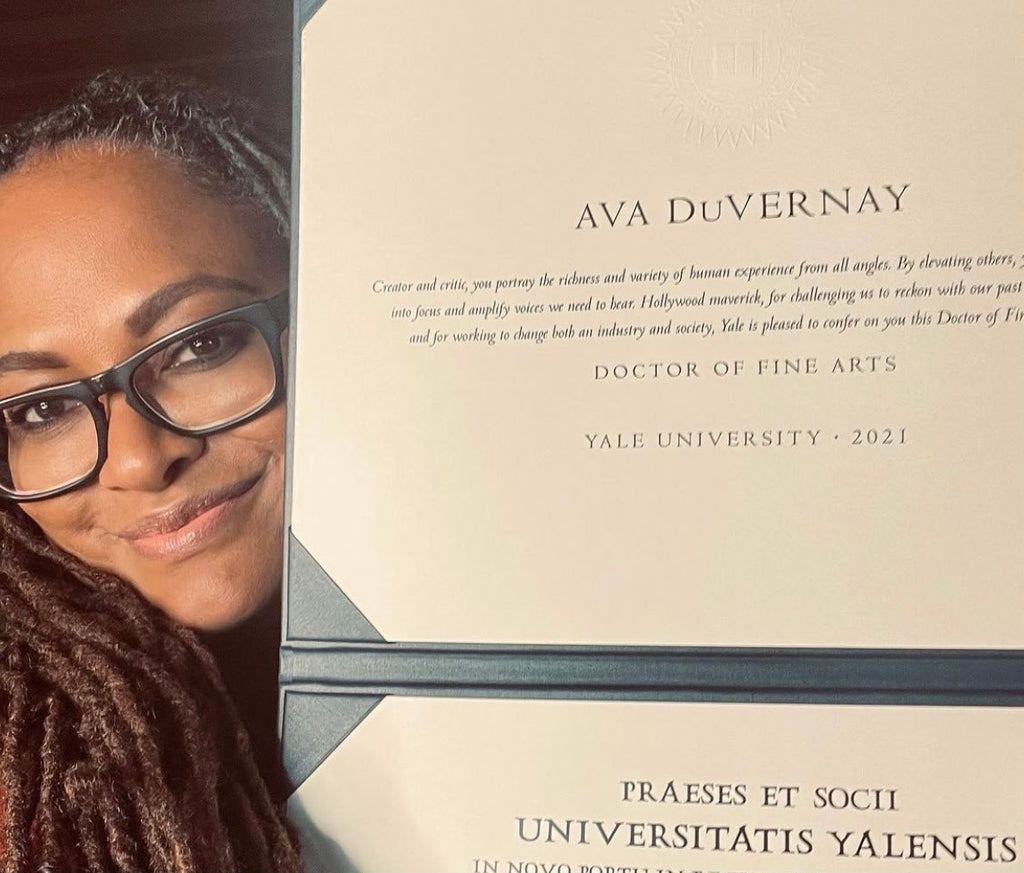 Filmmaker Ava DuVernay Receives Honorary Doctorate From Yale