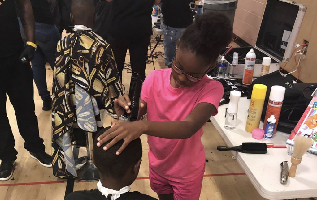 8-Year-Old Trained Barber Offers Free Haircuts To Kids In Her Philadelphia Community