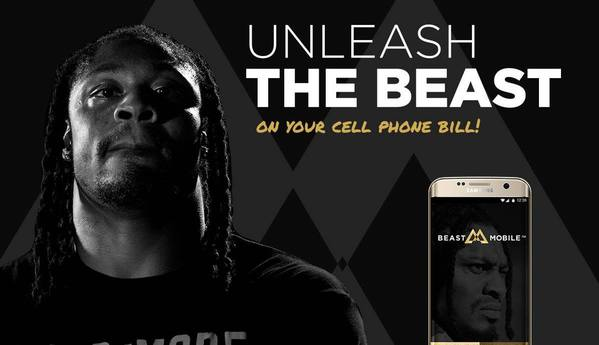 Marshawn Lynch Has His Own Cell Phone Service And It's Helping The Homeless In A Big Way