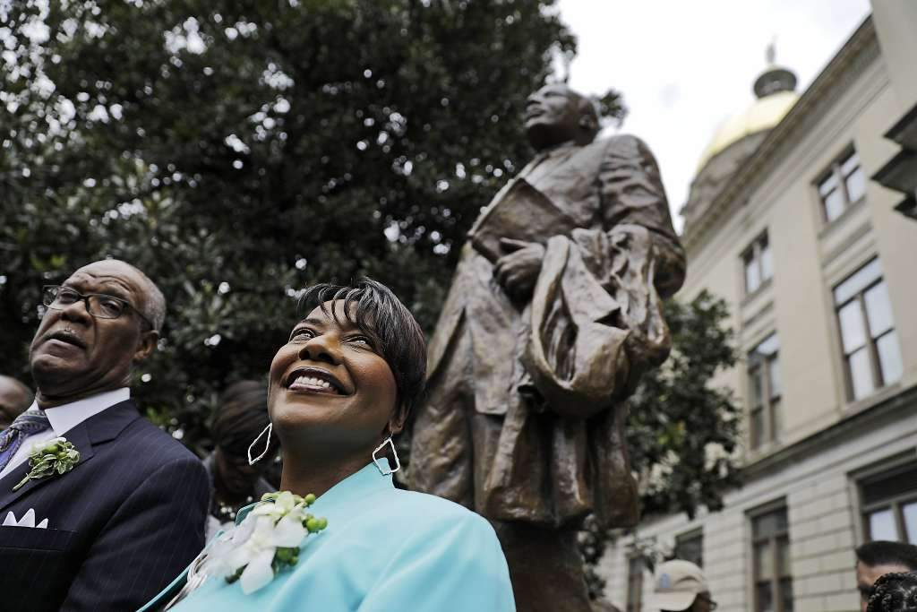 New Martin Luther King Jr. Statue Unveiled At Georgia Capitol On 54th Anniversary Of MLK's 'I Have A Dream' Speech