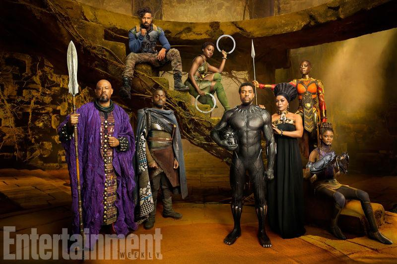 Check Out These 20 New Images from Marvel's 'Black Panther' Movie