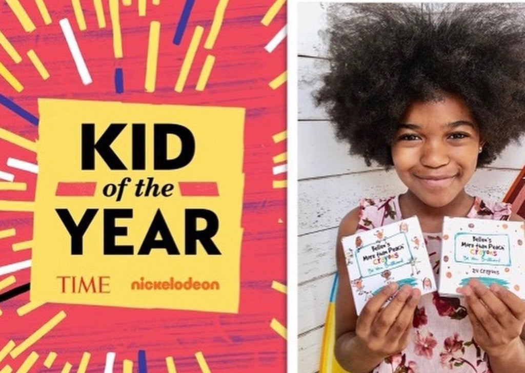 10-Year-Old Crayon Activist Bellen Woodard Named Time Magazine 'Kid of The Year' Honoree