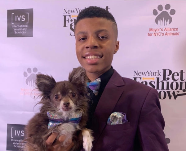 Teen Creates Bow Ties For Shelter Animals To Help Them Get Adopted