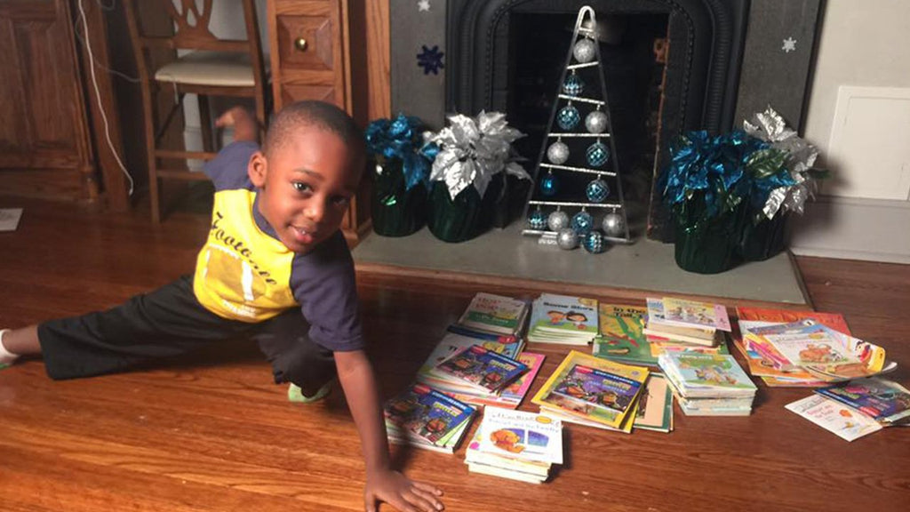 Way To Go, Caleb Green: This Four-Year-Old Read 100 Books In One Day