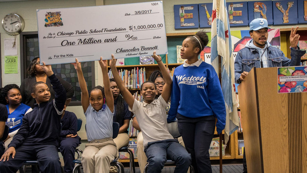 Call To Action: Chance The Rapper Donates $1 Million To Chicago Public Schools