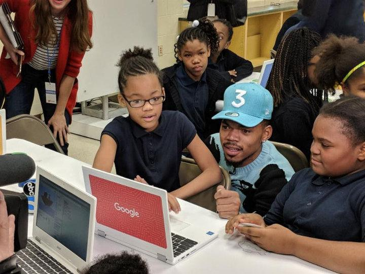 Chance The Rapper Announces $1 Million Google Donation That Will Bring Computer Science To Chicago Public Schools