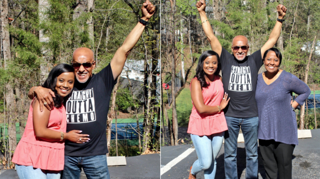This Daughter Gave Her Dad The Perfect Shirt To Celebrate Him Being Cancer-Free