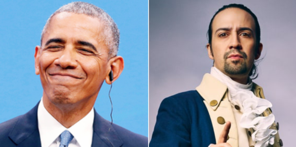 Barack Obama's New Song With 'Hamilton' Creator, Lin-Manuel Miranda, Lands Him On Billboard