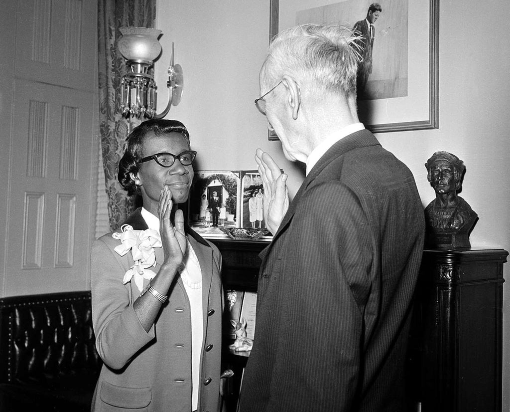50 Years Ago, Shirley Chisholm Was Sworn In As The First African American Congresswoman