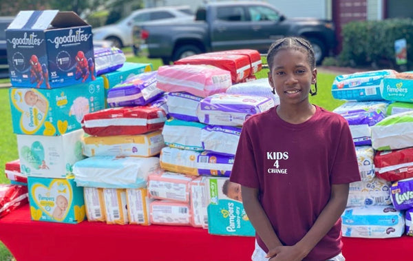 11-Year-Old Uses Money From Lemonade Stand To Donate 22,000 Diapers To Single Mothers