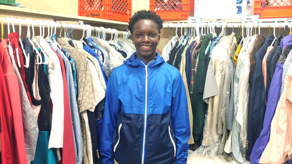 13-Year-Old Louisiana Student Creates Community Closet For Kids In Need