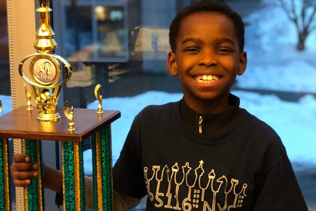 Eight Year Old Homeless Refugee Becomes New York Chess Champion