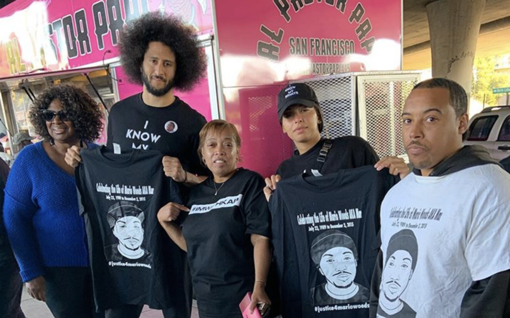 Colin Kaepernick Spends 32nd Birthday Delivering Food and Supplies to the Homeless