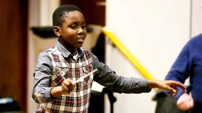 11-Year-Old Will Make History As Youngest 75-Piece Orchestra Conductor