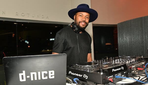 DJ D-Nice Is Single Handedly Saving 2020 With His 'Club Quarantine' on IG Live