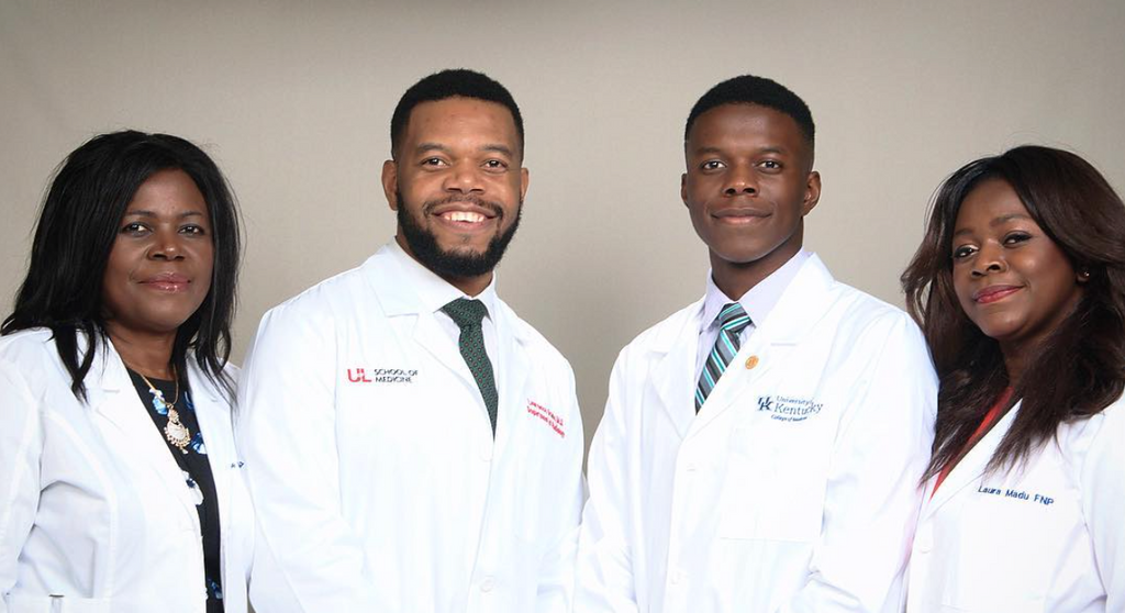 Check Out This Black And Beautiful Family Of Doctors