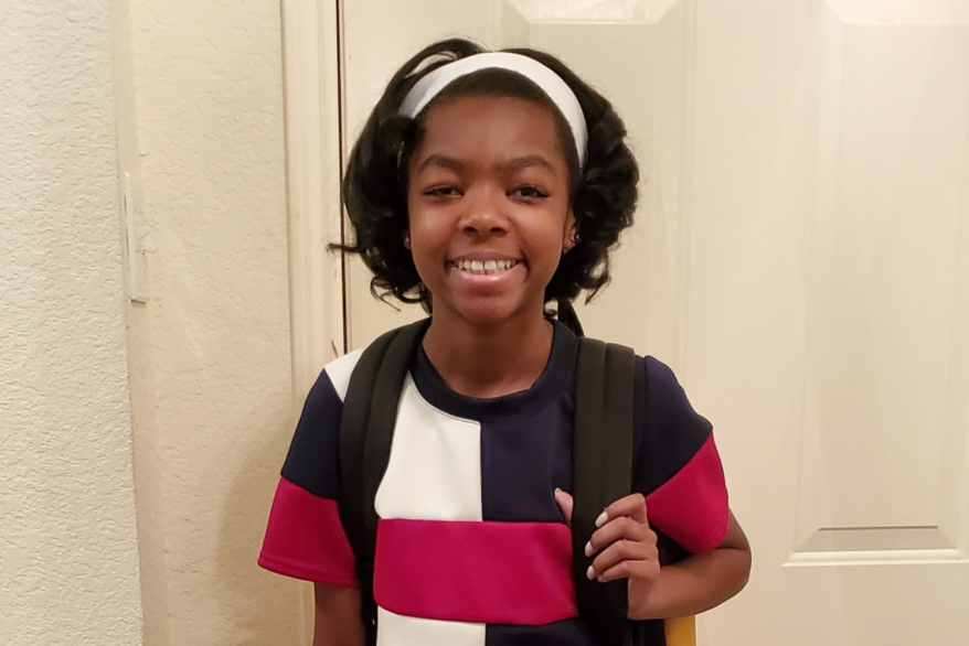 She's 11-Years-Old and Just Completed Her First Day of High School