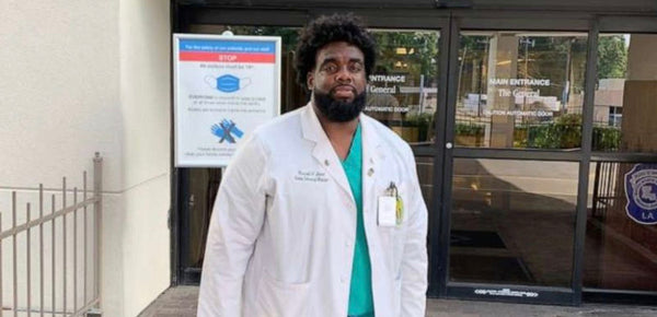 Meet Russell Ledet -- The Hospital Security Guard Turned Doctor