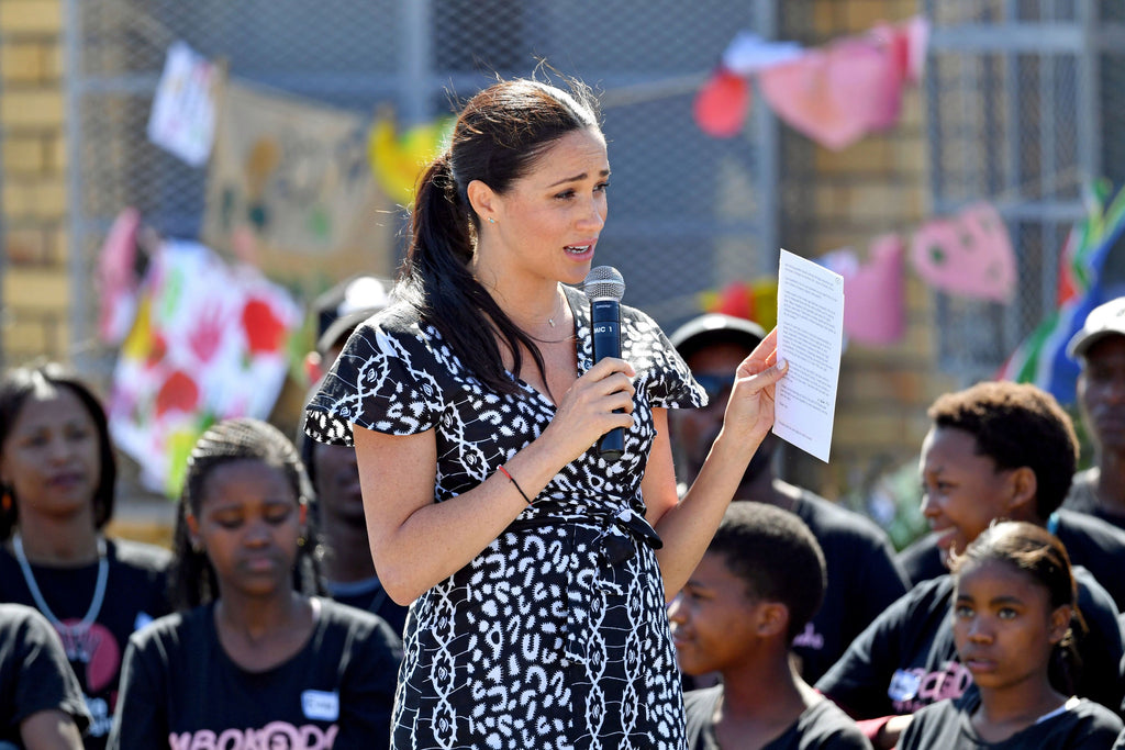 "Meghan Markle Speaks To Teenage Girls in South Africa: ""I Am Here As Your Sister"""