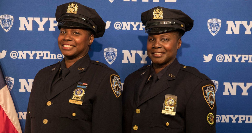 The NYPD's First African American Twin Sister Officers Are Now Both Detectives