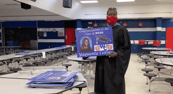 North Carolina Principal Surprises 220 Seniors With Their Own Personal Parades