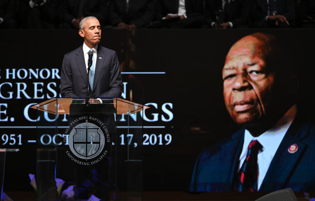 President Obama Uplifts Elijah Cummings As Good and Noble At Homegoing Celebration