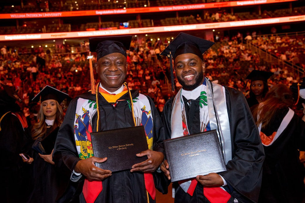 Inspiring Father-Son Duo Graduate From The Same College Together