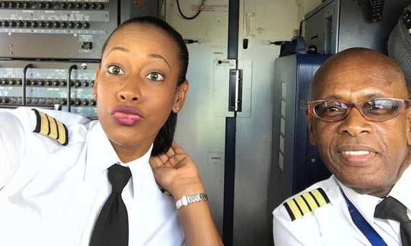 Father-Daughter Pilot Duo Celebrate Father's Retirement After 44 Years Of Flying The Friendly Skies