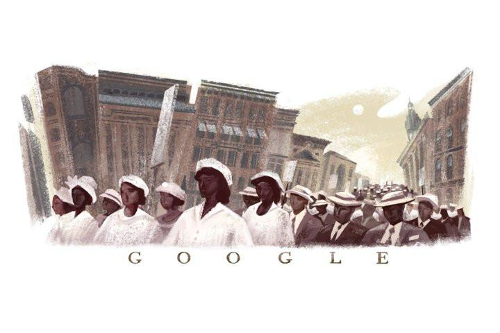 Google Doodle Honors 100th Anniversary Of NAACP's Silent Protest Parade