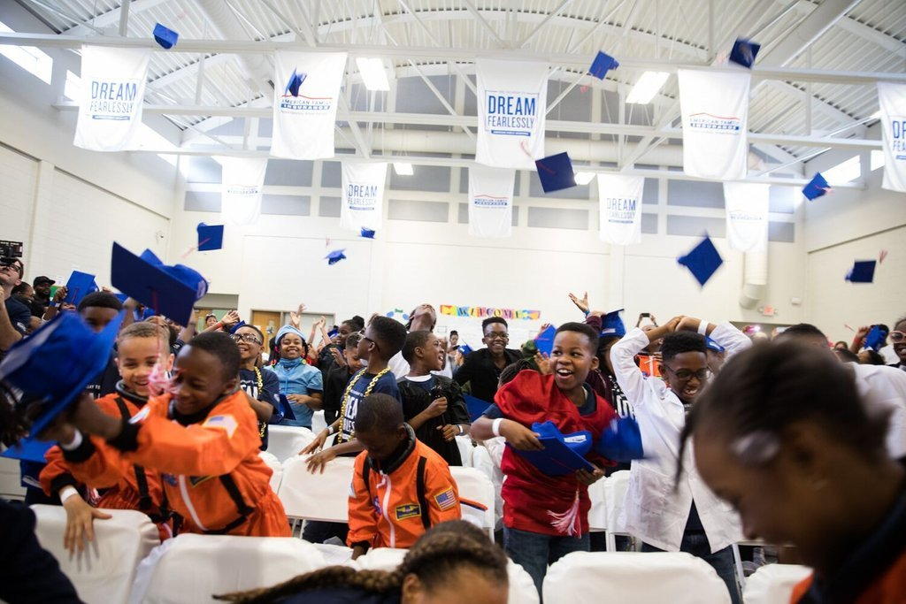 100 Third Graders Graduated As Doctors, Engineers, And Artists Over The Weekend