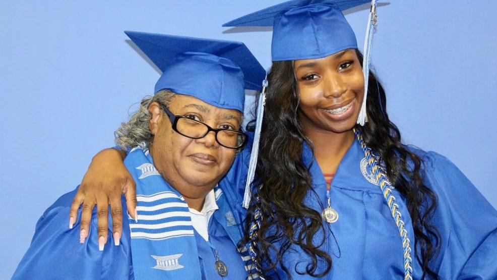 Grandmother-Granddaughter Duo Graduate From College Together