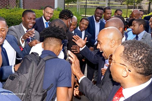 100 Black Men Of Atlanta Gave These Students The Perfect Back To School Welcome