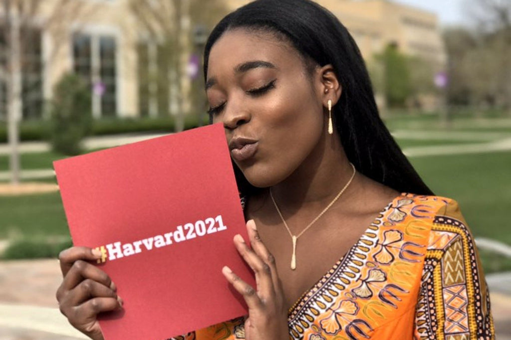 Priscilla Samey Brought Her Harvard Acceptance Letter To Prom