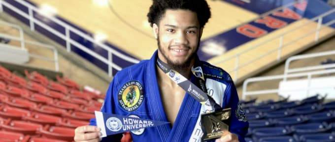 Howard Student Makes History As First African American International Brazilian Jiu-Jitsu Federation World Champion