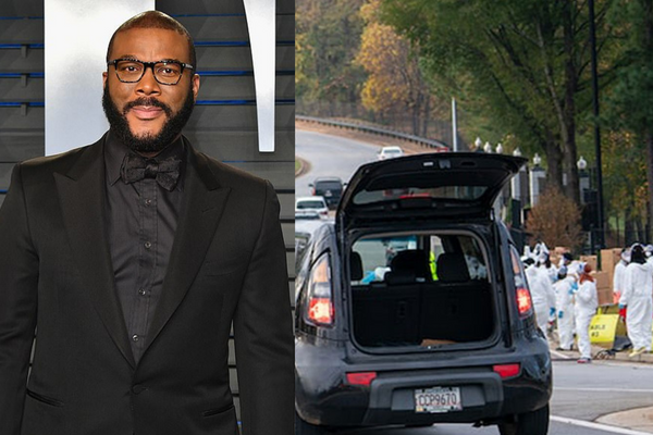 Tyler Perry Gives Food And Gift Cards To 5000 Families For Thanksgiving