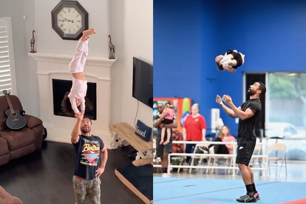 This Dad and His 4-Year-Old Daughter Are Cheerleading Squad Goals