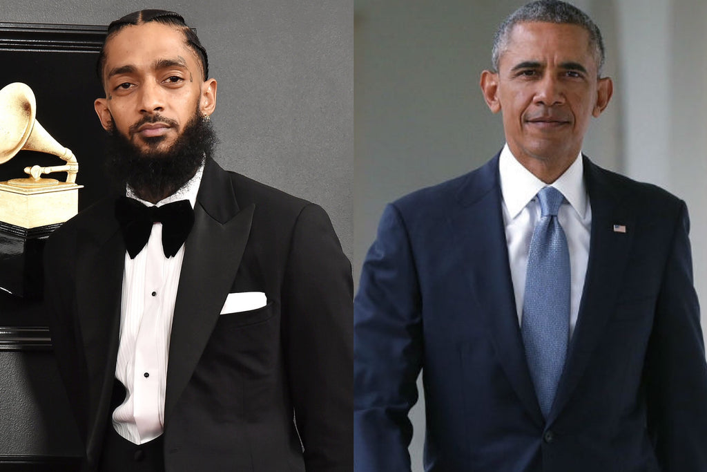 Barack Obama Calls Nipsey Hussle's Transformation and Work a Legacy Worth Celebrating