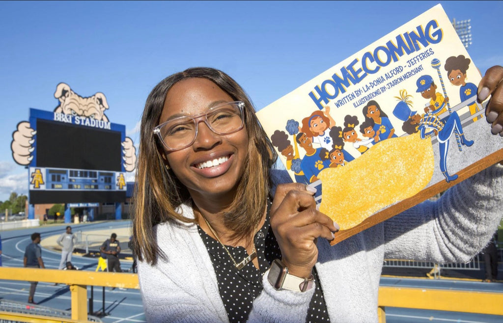 North Carolina A&T Grad Writes Children's Book About The HBCU Homecoming Experience