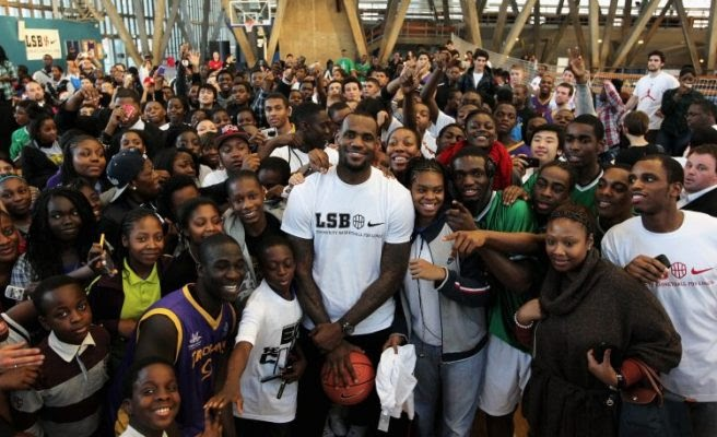 LeBron James I PROMISE Students Offered Free Tuition At Kent State University