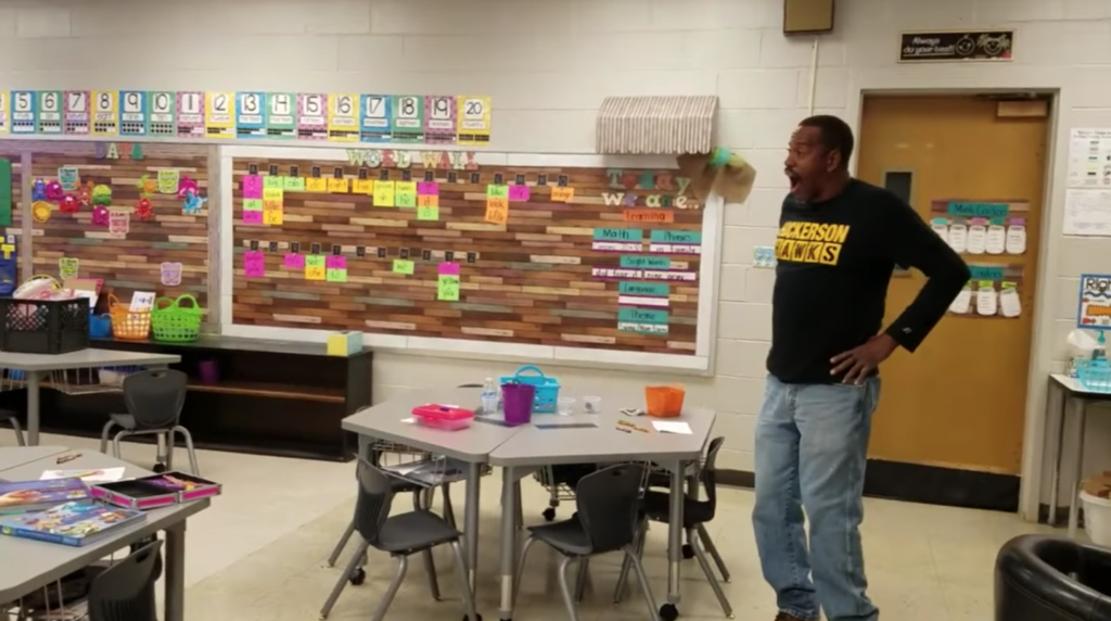 All The Feels: Kindergarteners Surprise Custodian, Who Is Hearing Impaired, By Signing 'Happy Birthday'
