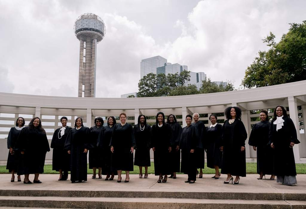 A Powerful Photo Of Black Women Judges In Dallas County, Texas
