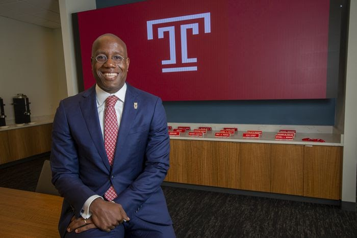 Jason Wingard Makes History As First Black President Of Temple University In School's 137-year History