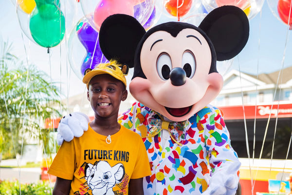 Disney Surprises Boy Who Donated Money to Help Hurricane Dorian Evacuees