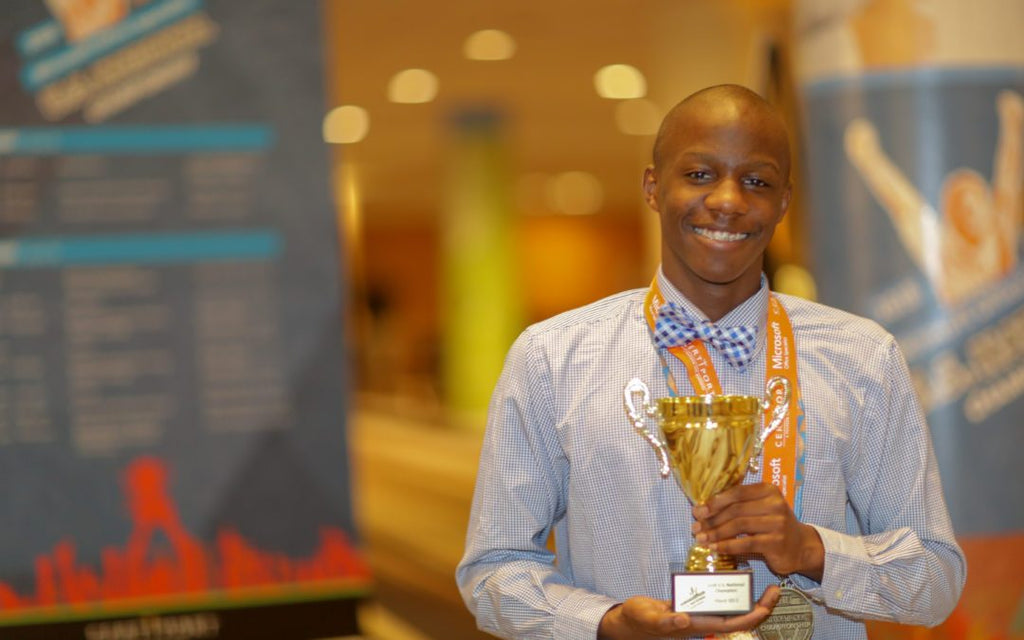 Black Excellence: This 15-Year-Old Is A Microsoft Office Specialist U.S. National Champion